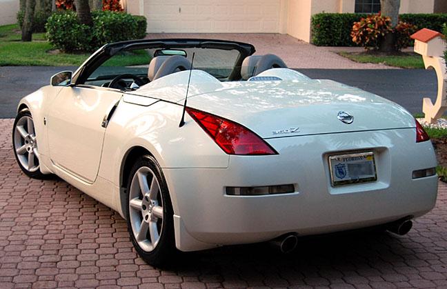 nissan 350z convertible white. nissan 350z convertible white 5